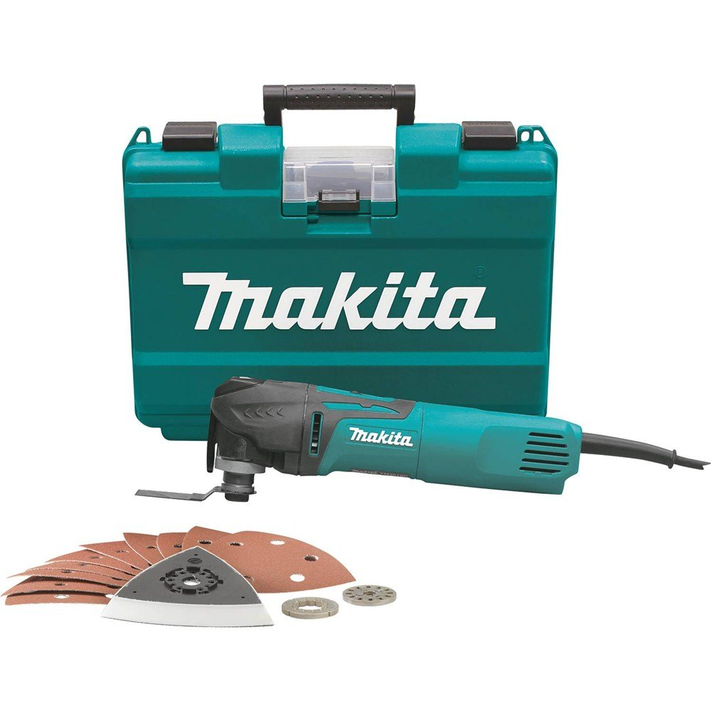 Makita TM3010CX1 Multi Tool with Tool Less Blade Change by Makita