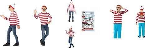 Disfraz de Smiffys con licencia para niños, ¿Dónde está Wally? Kit ...