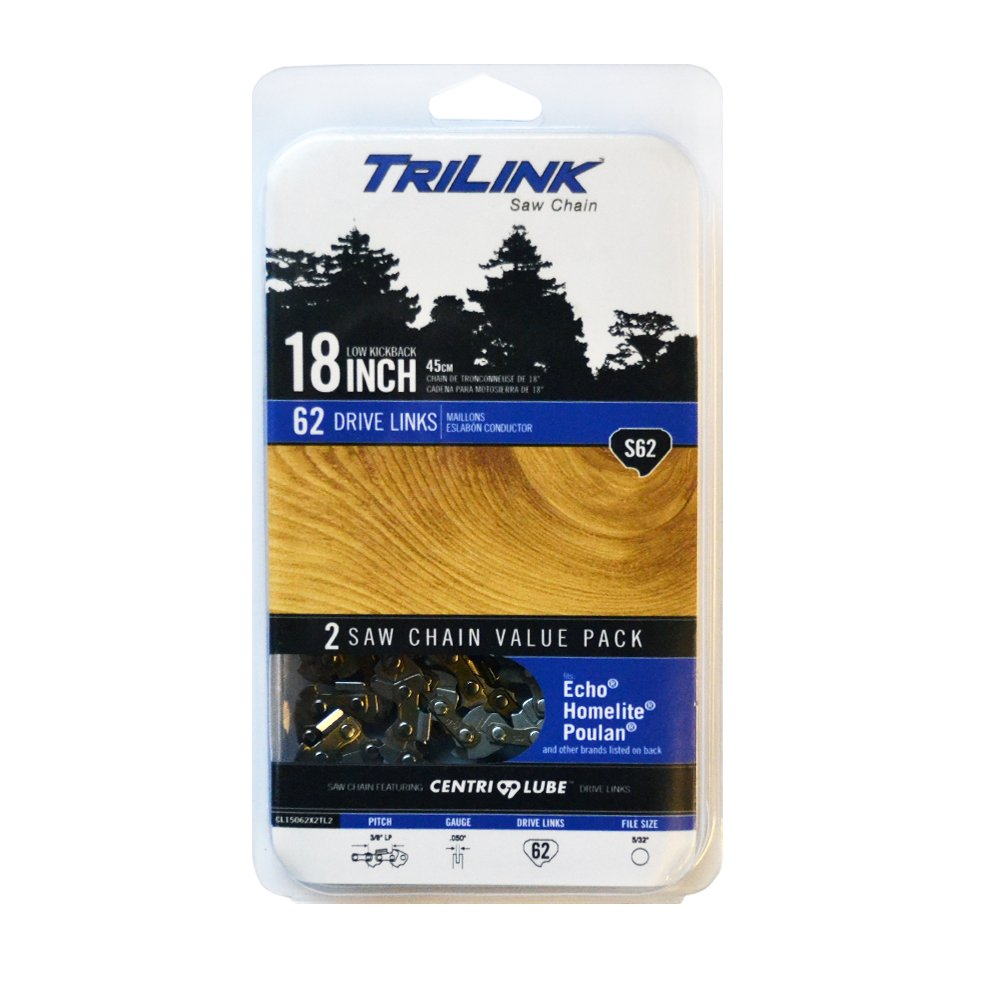 Trilink Saw Chain CL15062X2TL2 18'' Twin Pack S62 by Trilink Saw Chain