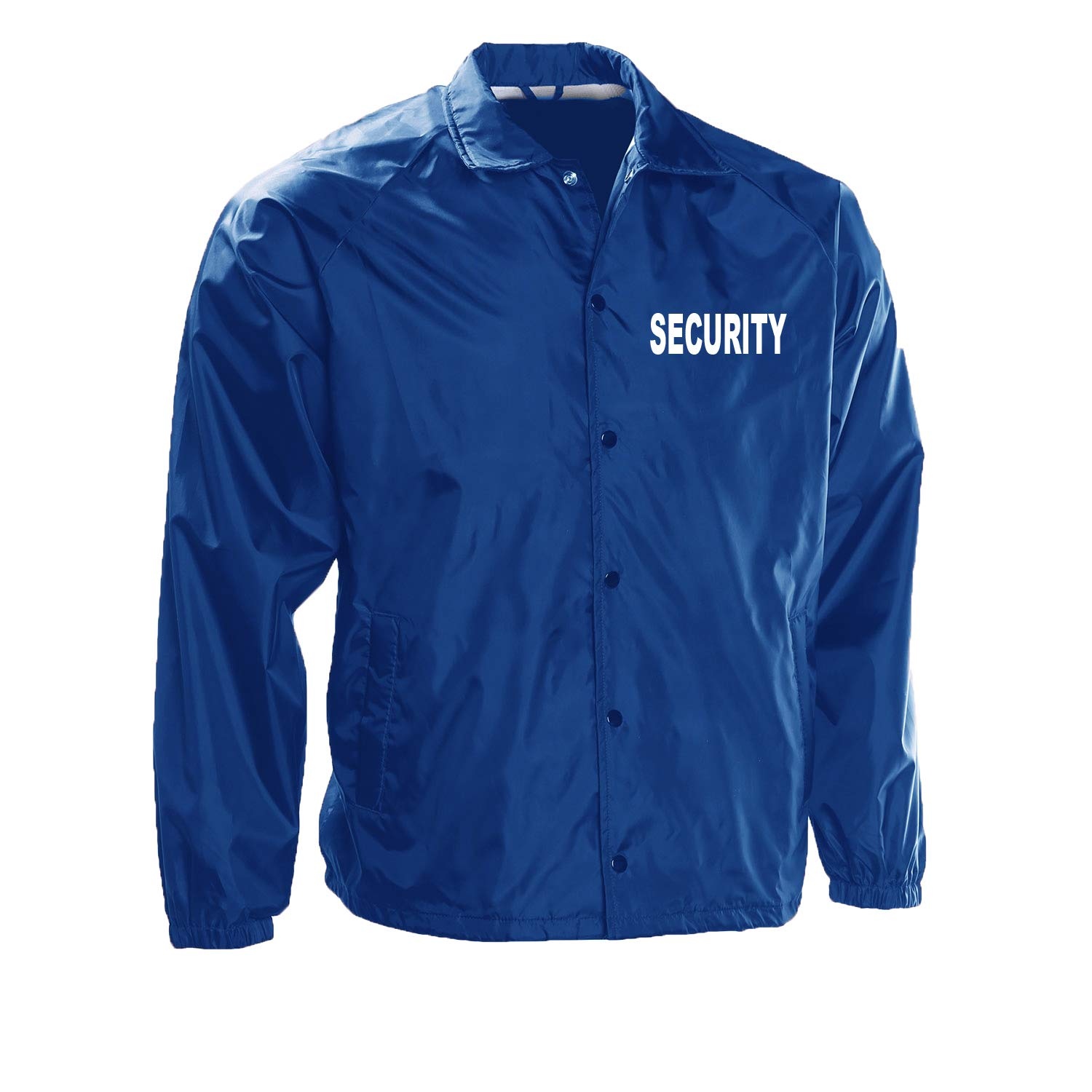 Choice4ever VOS Security 100% Taffeta Nylon Water Resistant Lightweight Windbreaker
