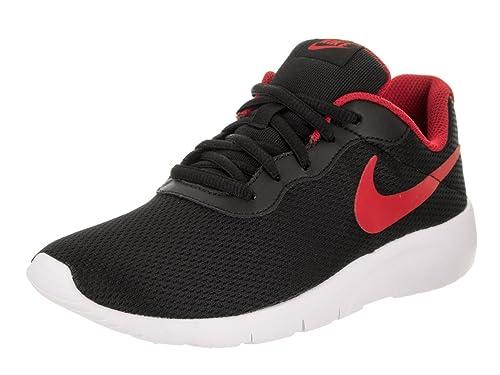 NIKE Nike Tanjun (GS) Zapatilla Deportiva 5 de EE.UU. Niñas Negro Rojo  Blanco Universidad 5 M US Big Kid  Amazon.es  Zapatos y complementos 4f2ae470705