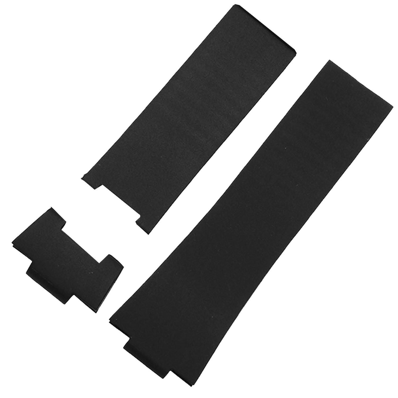 26 mmブラックゴム時計ストラップバンドと互換性Ulysse Nardin 353 – 68le-3 B01N1R9U9W