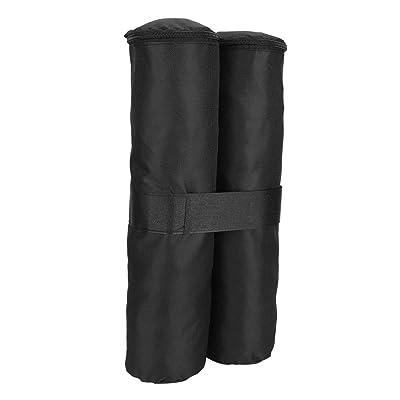 Samfox Tent Weight, Canopy Weight Bag Pop-up Sunshade Tent Foot Outdoor Sun Shelter Legs(Black): Home & Kitchen