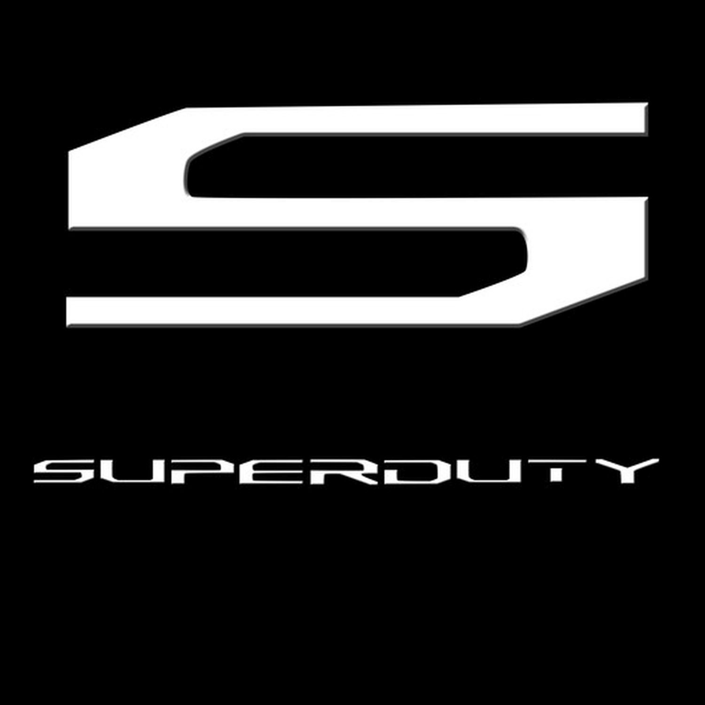 RECON 264381WH 2017-2018 Superduty Acrylic 3 Piece Set White Emblem Raised Logo