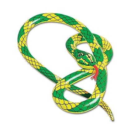 PST Serpiente Inflable 2,5 m: Amazon.es: Juguetes y juegos