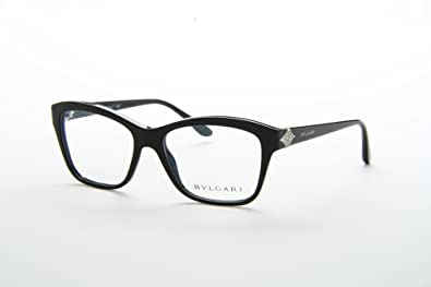 fe6015527031 BVLGARI BV 4080B Eyeglasses 501 Black 53-16-140  Amazon.co.uk  Shoes ...