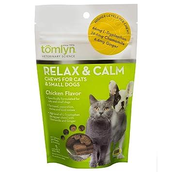 Amazon.com: tomlyn relajarse y calma Chews para gatos y ...