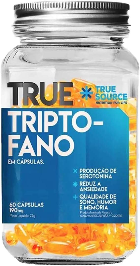 Triptofano True Source 60 Cápsulas 400mg por True Source Nutrition