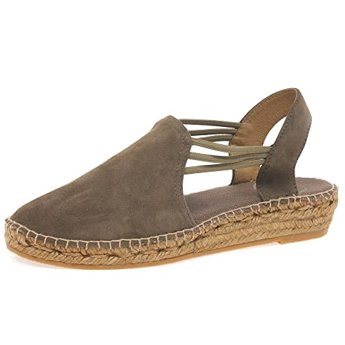 Zapatos rojos Nike para hombre Nuria Flat Suede Espadrille Taupe 41 Zapatos Geox Kiwi infantiles Jonny's Vegan 7952-9YKB - Zapatillas Altas de Sintético Mujer JKD4Egtc9K
