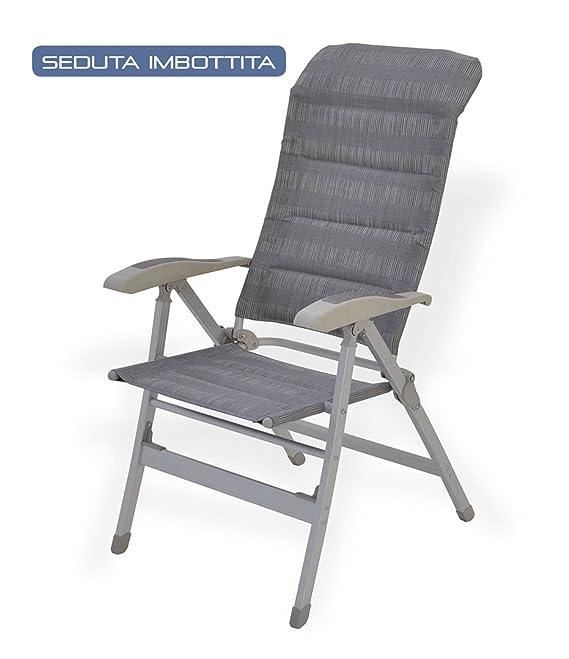 Silla plegable de camping Style con asiento acolchado ...