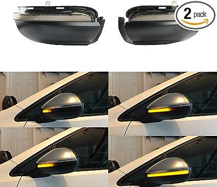 VW POLO SKODA OCTAVIA RIGHT DRIVERS SIDE WING MIRROR INDICATOR LAMP LIGHT