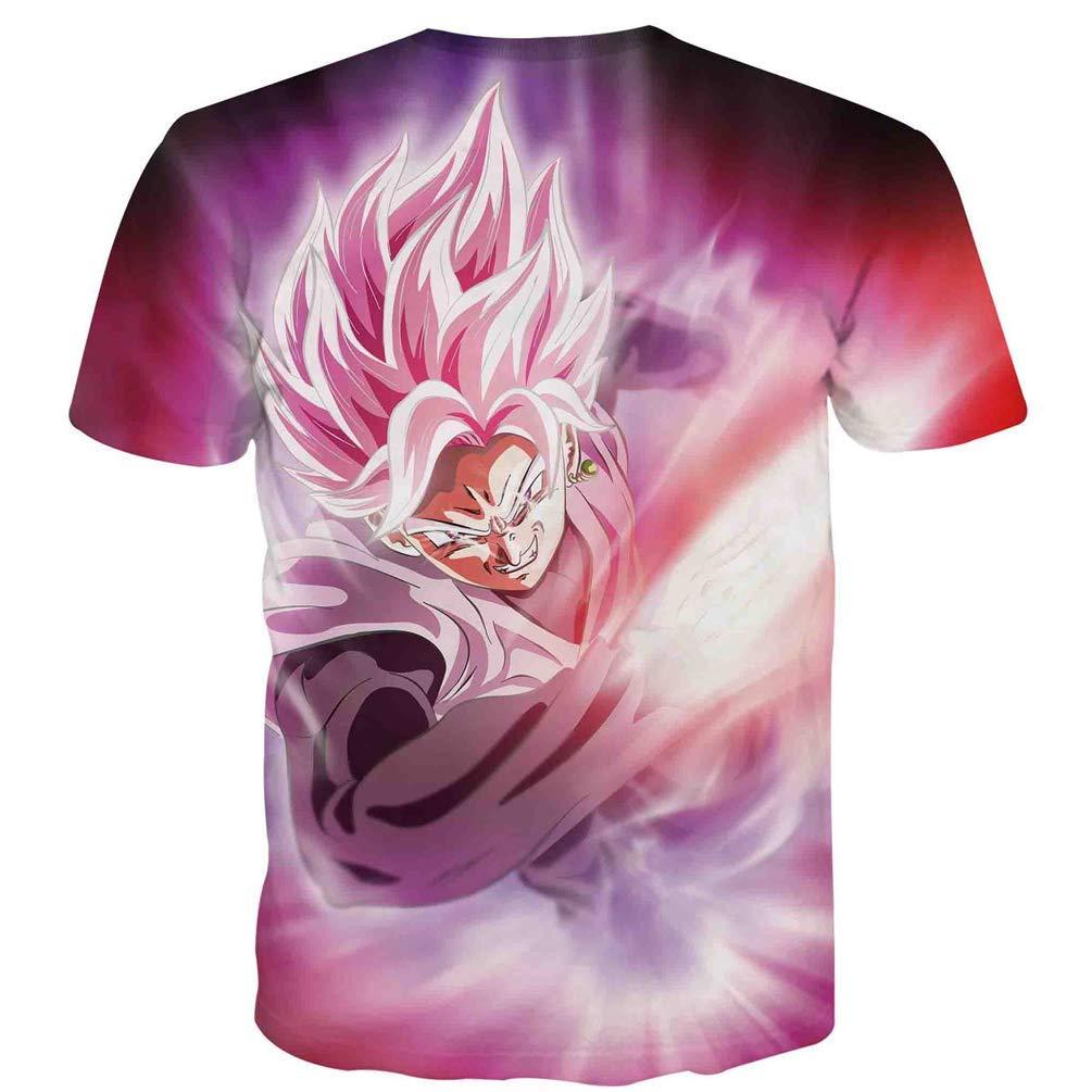 Japanese Anime Manga Dragon Ball Z Super Goku Sleep Men Women Unisex T-Shirt WER-1