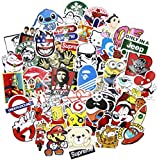 Sticker Pack [200pcs],Sanmatic Sticker Decals Vinyls for Laptop,Cars,Motorcycle,Bicycle,Skateboard Luggage,Bumper Stickers Hippie Decals bomb Waterproof