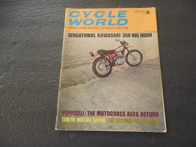 cycle world jan 1970 kawasaki 350 big horn pepperell motocross at