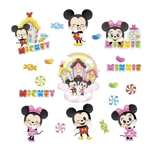 Lanhai Mickey Minnie Disney Cartoon Mouse Wallpaper