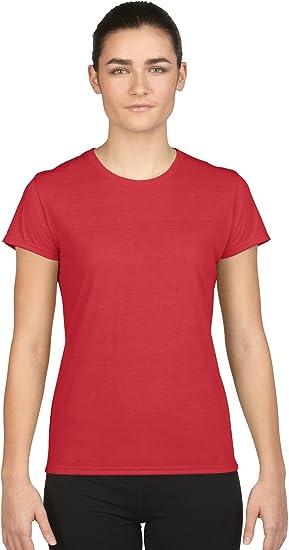 4c62b0e8867 Gildan Missy Fit Womens X-Small Adult Performance Short Sleeve T-Shirt