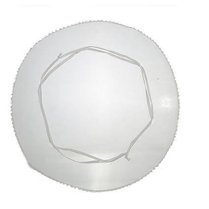 Amazon.com: Blanco con redondo de organza joyería bolsas ...
