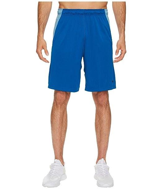 bb2f7335 Nike Dry 9 Training Short Blue Jay/Cerulean/Black Mens Shorts S