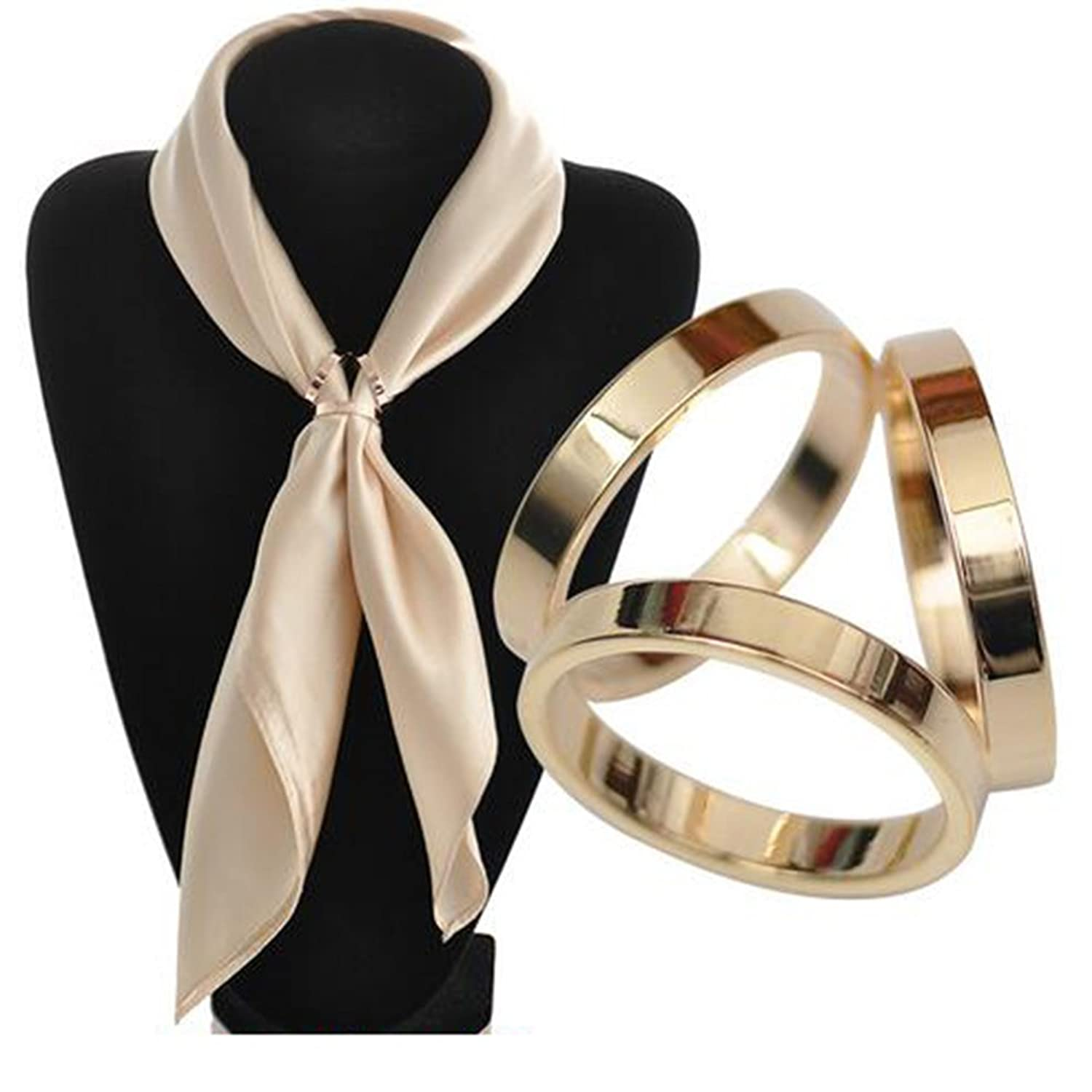 twilly shop mother scarves shell a rings ring by chic f pearl accent scarf horn for of liberatti