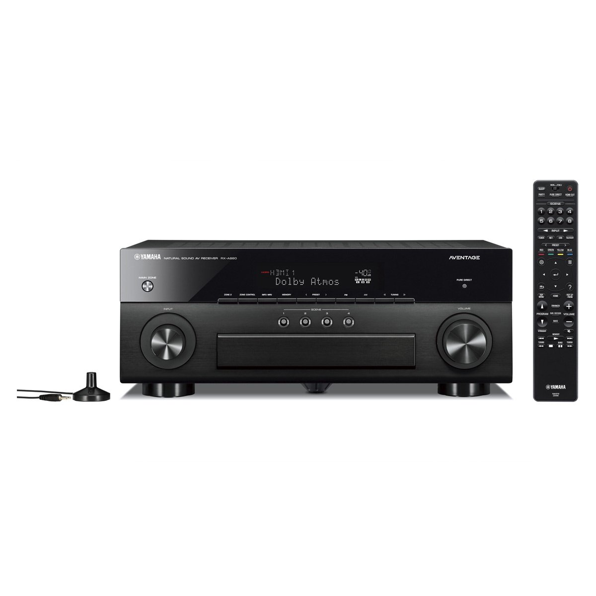 Yamaha RX-A880 Premium Audio & Video Component Receiver - Black by Yamaha Audio (Image #2)