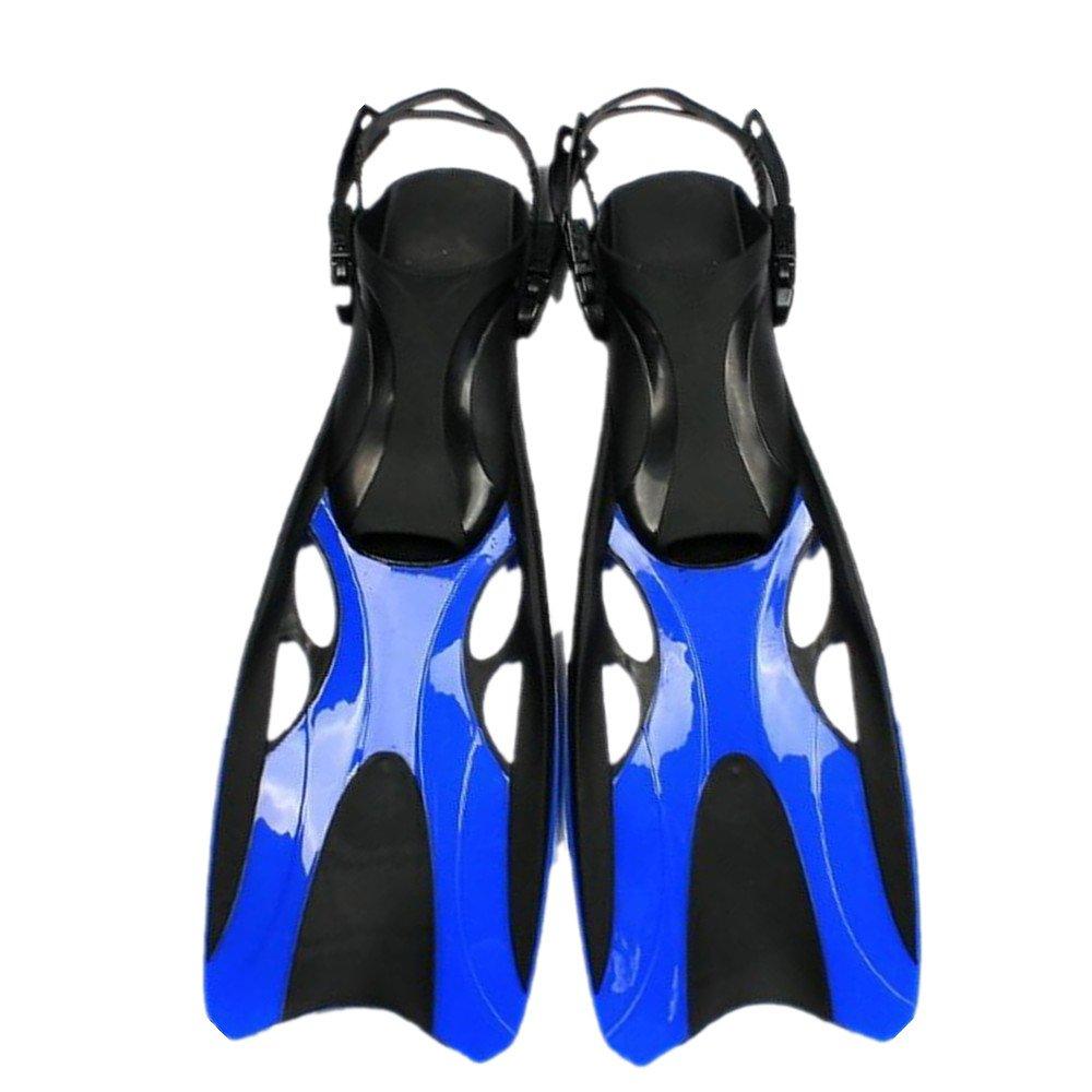 印象のデザイン スイミング サイズ、シュノーケリング、水泳に最適な超軽量スノーケリングフィン (色 42-47 : 銀, サイズ : 青 42-47) B07FCJL466 青 42-47 42-47|青, クローバー資材館:ba9cf0ed --- arianechie.dominiotemporario.com
