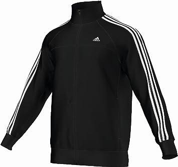 Adidas 3 streifen winterjacke schwarz