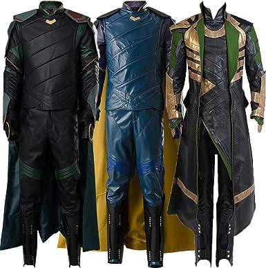 Amazoncom Cosplaysky Thor Ragnarok Loki Costume Halloween Outfit