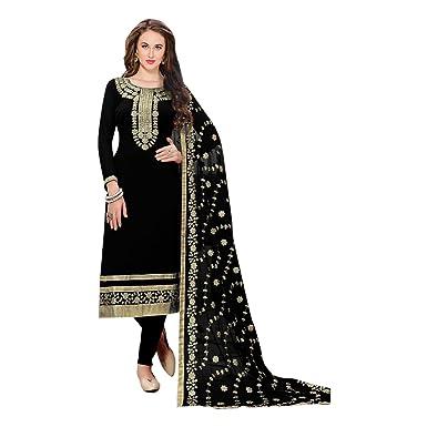 26a518933d Amazon.com: Black Designer Party Wear Pants Style Straight Punjabi Salwar  Kameez Patiala Custom to Measure Indian Ethnic wear 2799: Clothing