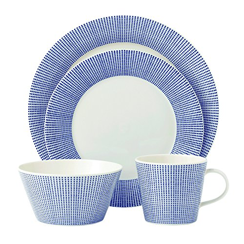 White 4 Piece Place Setting - 9