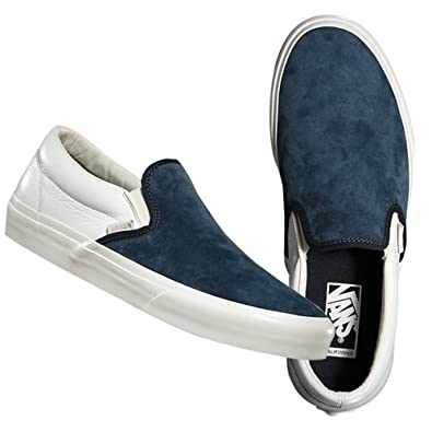 b710536615 (バンズ) VANS CLASSIC SLIP-ON CA (SCOTCHGARD)BLUE GRAPHITE
