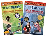 img - for Bilingual Science and Math Mysteries Book Set (One Minute Mysteries) book / textbook / text book