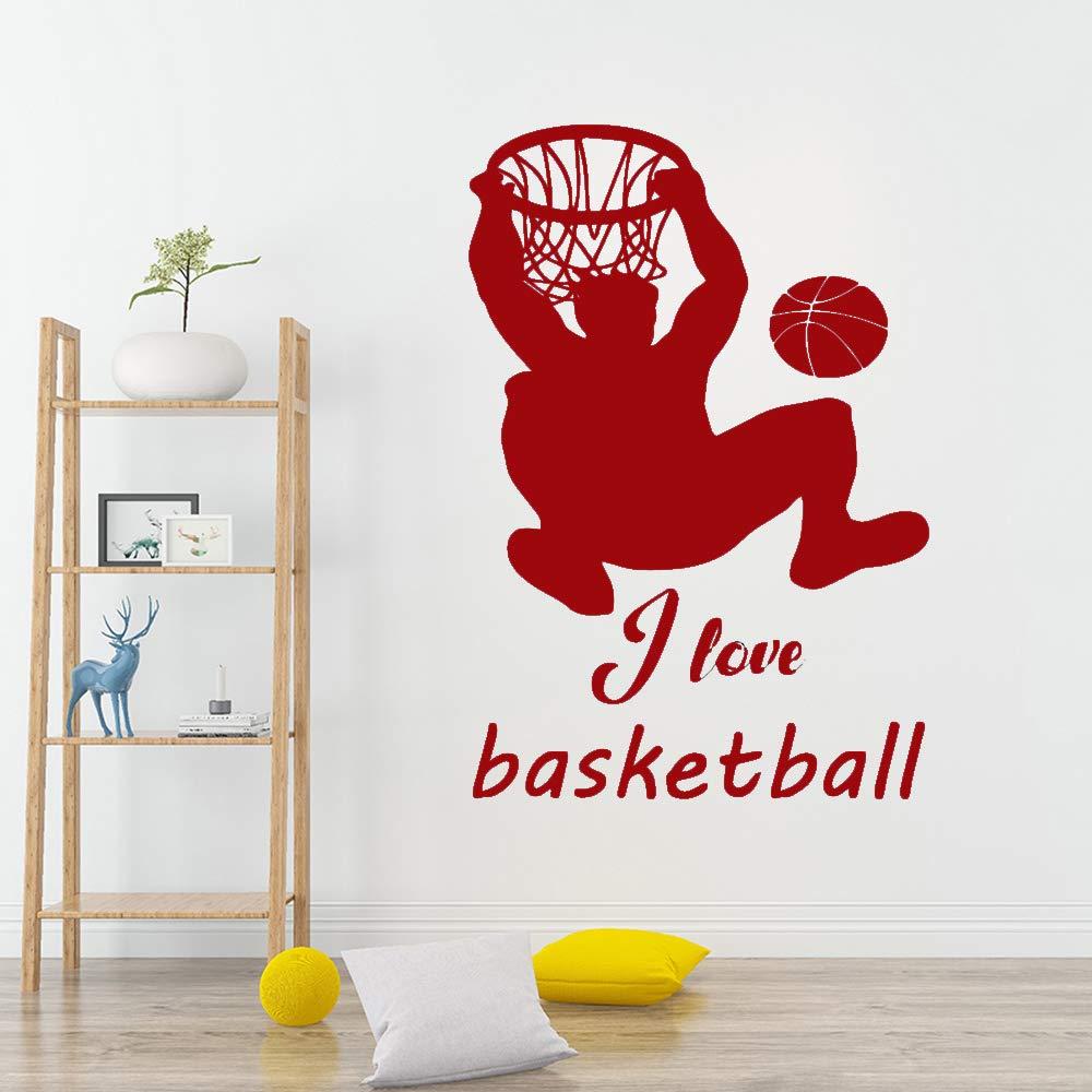 Moderno creativo creativo jugador de baloncesto Dunk Shot ...