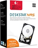 "HGST DeskStar NAS 3.5"" 6TB 7200 RPM 128MB Cache SATA 6.0Gb/s High-Performance Hard Drive for Desktop NAS Systems Retail…"