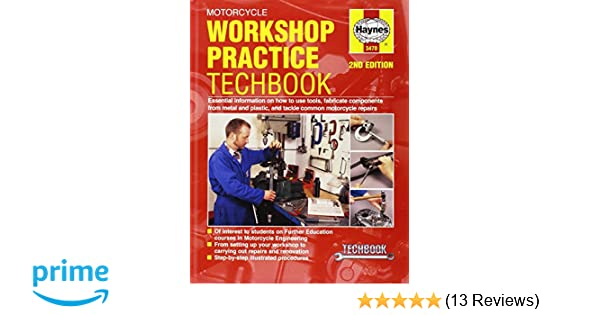motorcycle workshop practice techbook haynes repair manuals rh amazon com