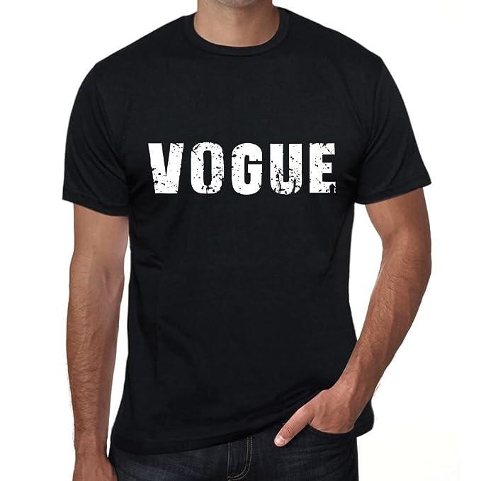Vogue Hombre Camiseta Negro Regalo de Cumpleaños 00553: Amazon.es: Ropa y accesorios