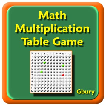 Amazon Math Multiplication Times Table Game Appstore For Android