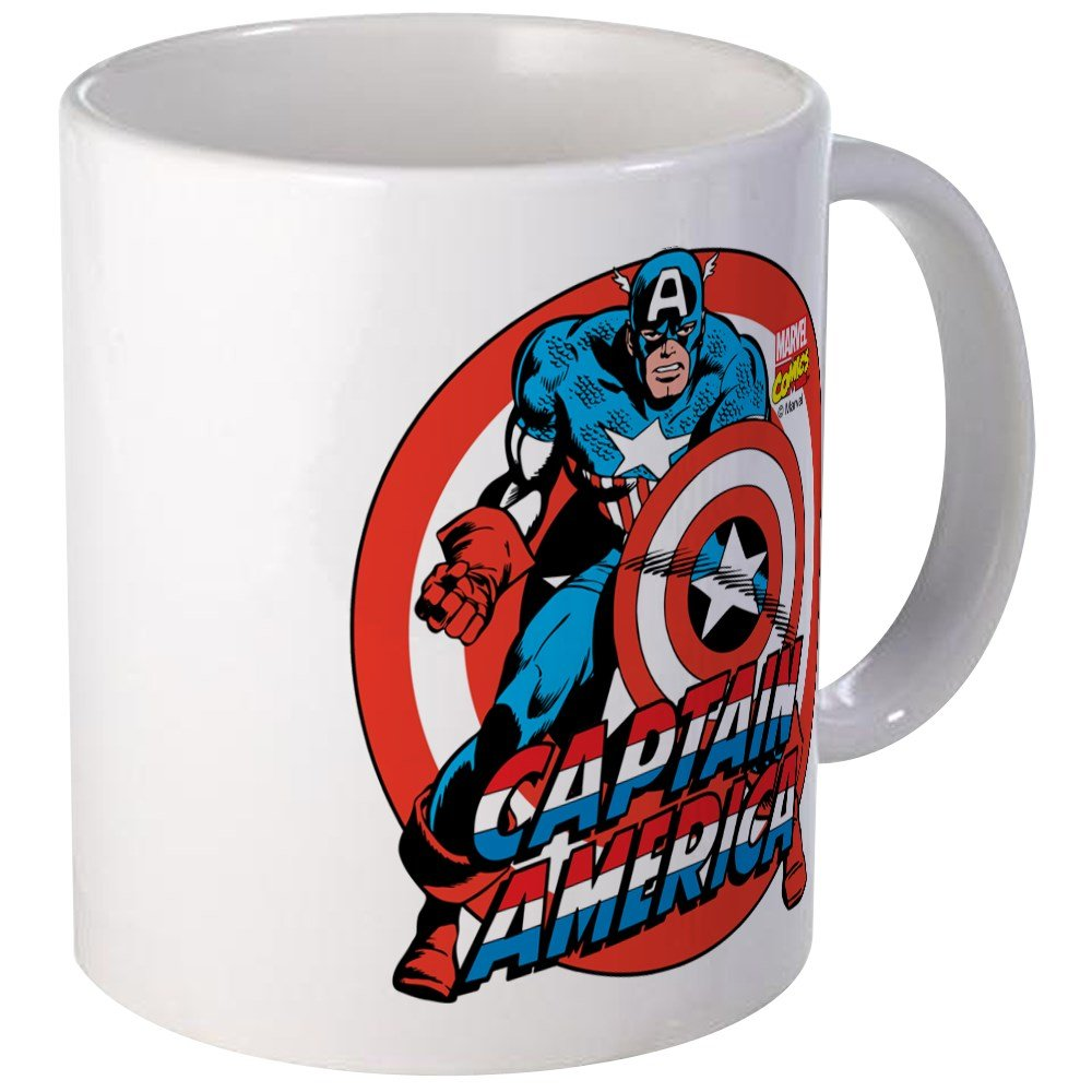 CafePress - Captain America Mug - Unique Coffee Mug, Coffee Cup
