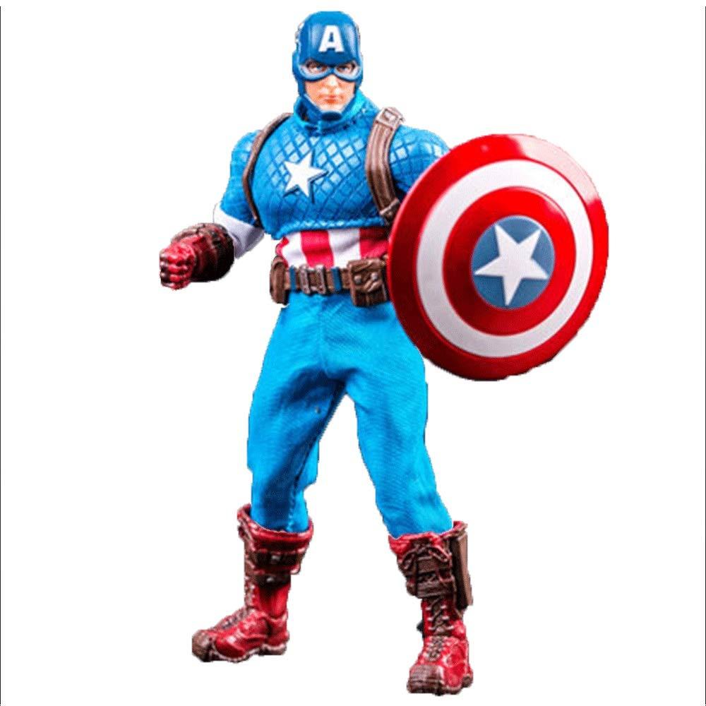 Chenyang86 Giocattoli - Marvel Hand - Spiderman   Captain America   Superman   Flash ( Colore   B , Dimensione   17cm )