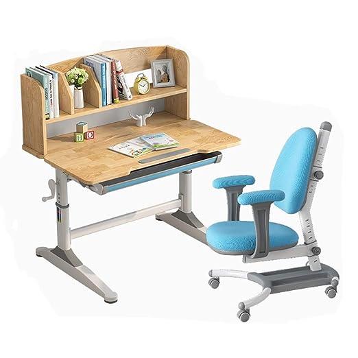 Sunferkyh Mesa para niños y sillas Los niños Mesa de Estudio ...