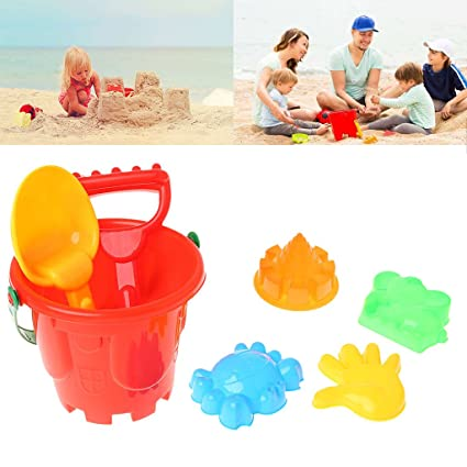 7pcs Castle Model Kids Beach Castle Water Tools Toys Sand Game Funny Educational Toys For Children Best Gift Pools & Water Fun