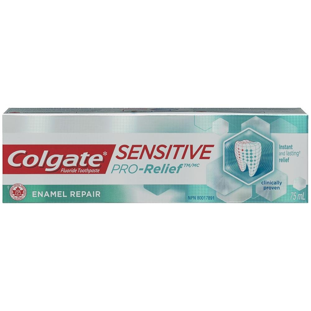 Colgate Sensitive Pro-Relief Toothpaste, Gentle Whitening, 75 mL 312971