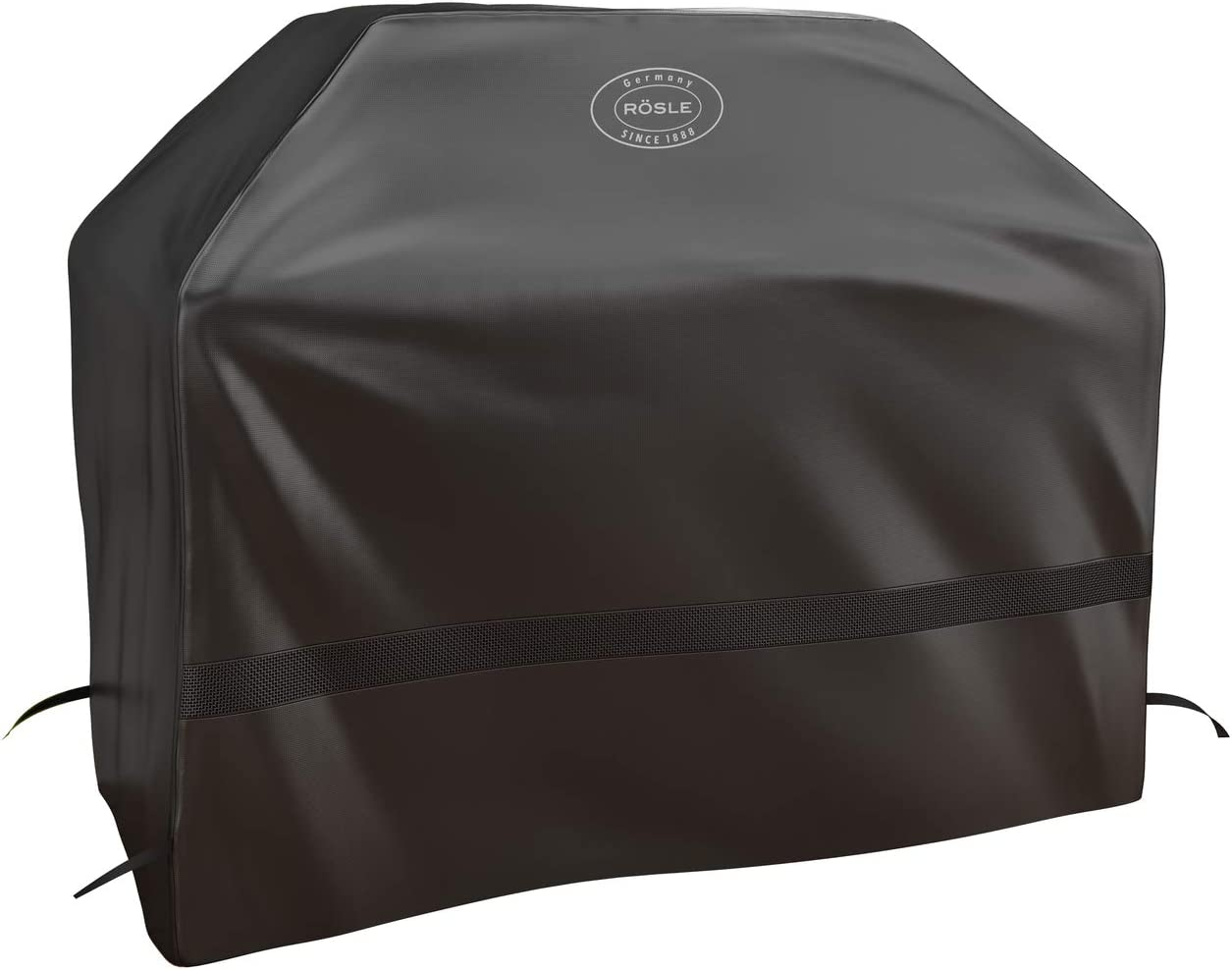 Color Negro Cubierta para Barbacoa R/ösle BBQ-Station Magnum G4//G4-S