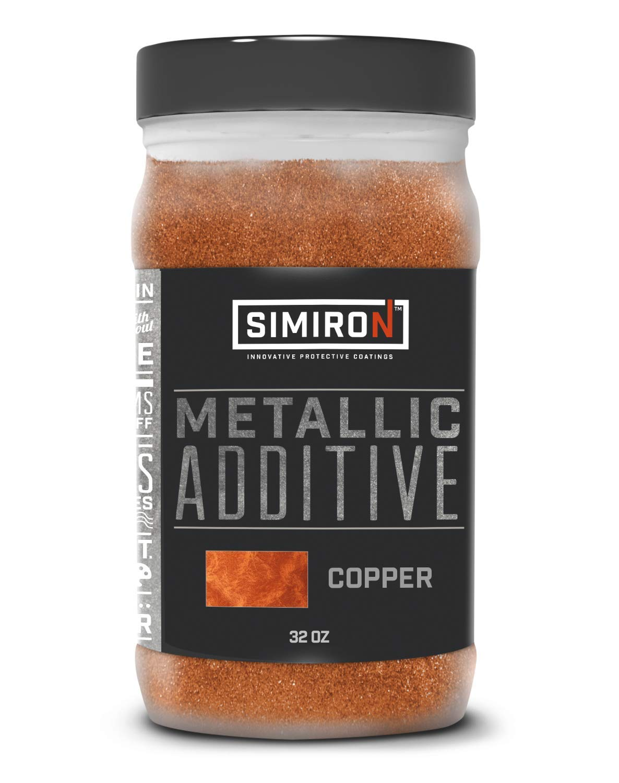 Simiron Metallic Additive- Durable- Unique Design- for Epoxy Floors- Copper- 32 oz