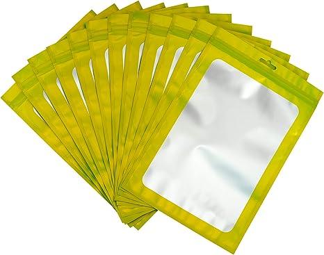 20 x Green Mylar Ziplock Heat-Sealable Bags 110 x 170mm FREE Postage OZ Store