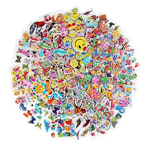 kid puffy stickers