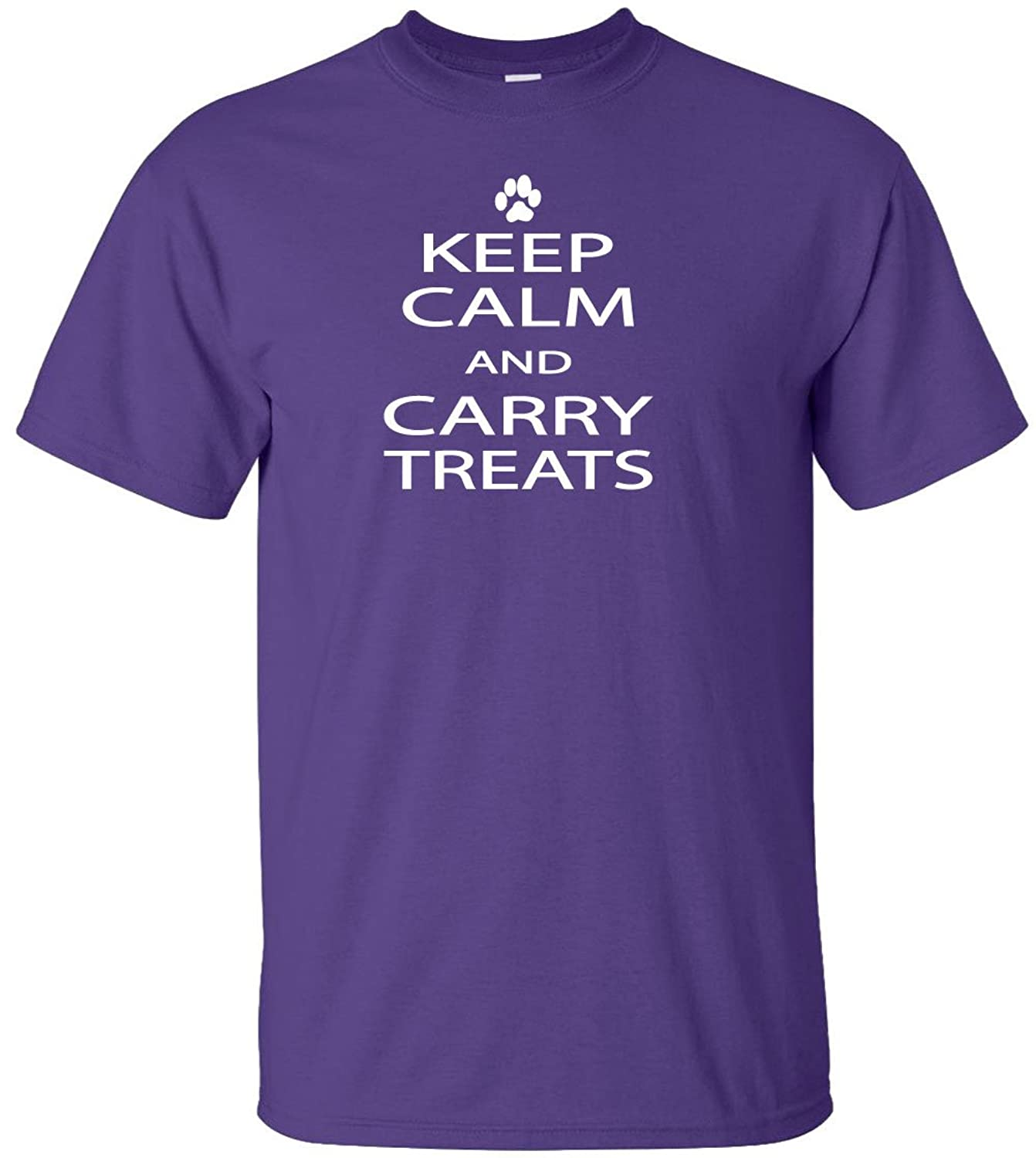 Keep Calm And Carry Treats Adult T-Shirt