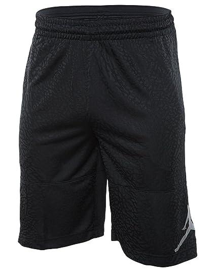6f3b0d235a7cda Jordan ELE PRINTED BLOCKOUT SHORT ASW mens athletic-shorts 869354-010 S -  BLACK