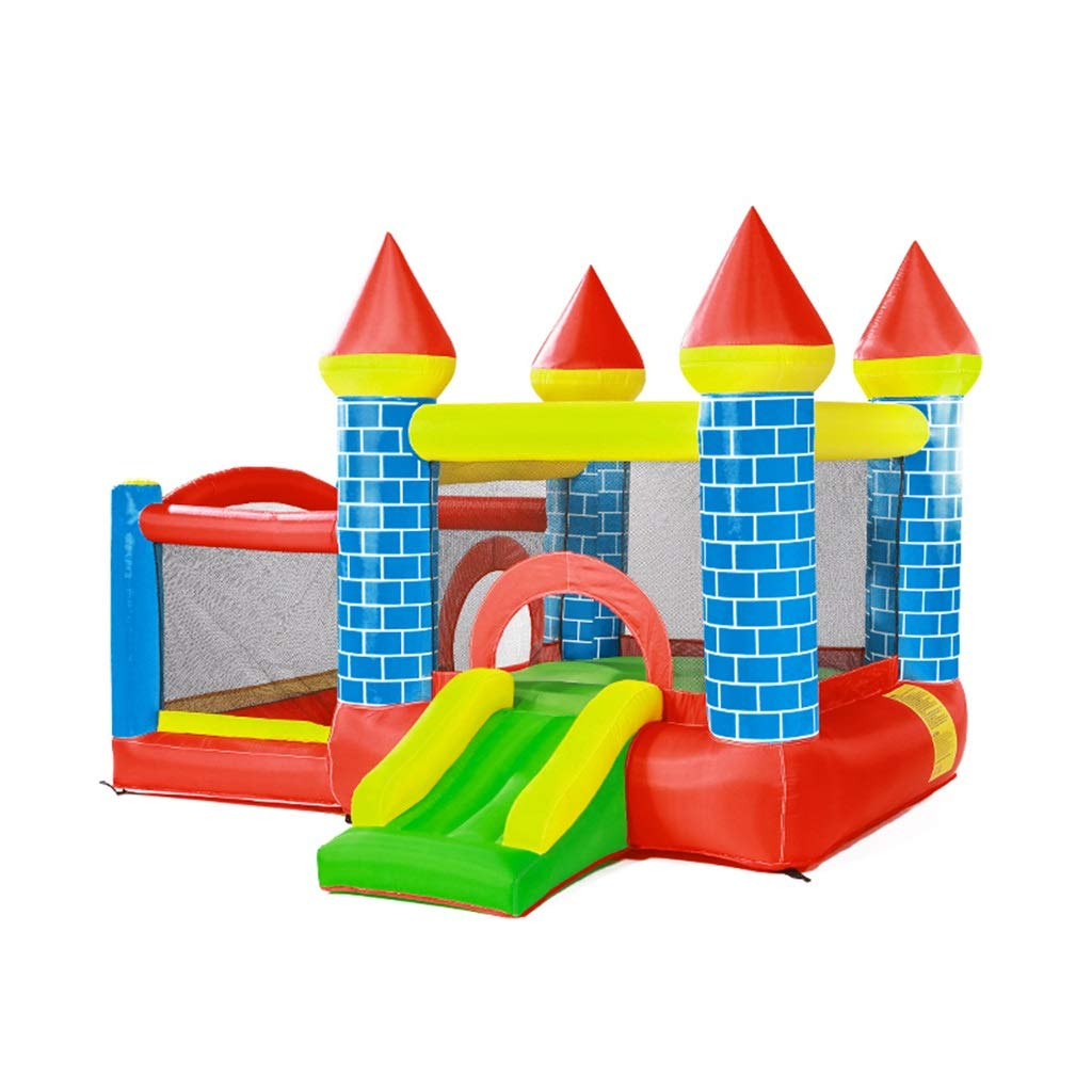 TAQUA Castillo Inflable for niños, trampolín Interior ...