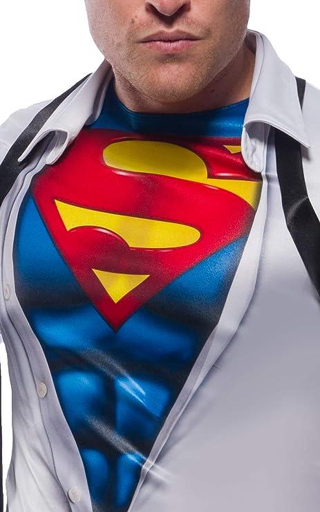 Generique - Camiseta con Corbata Superman Adulto: Amazon.es ...