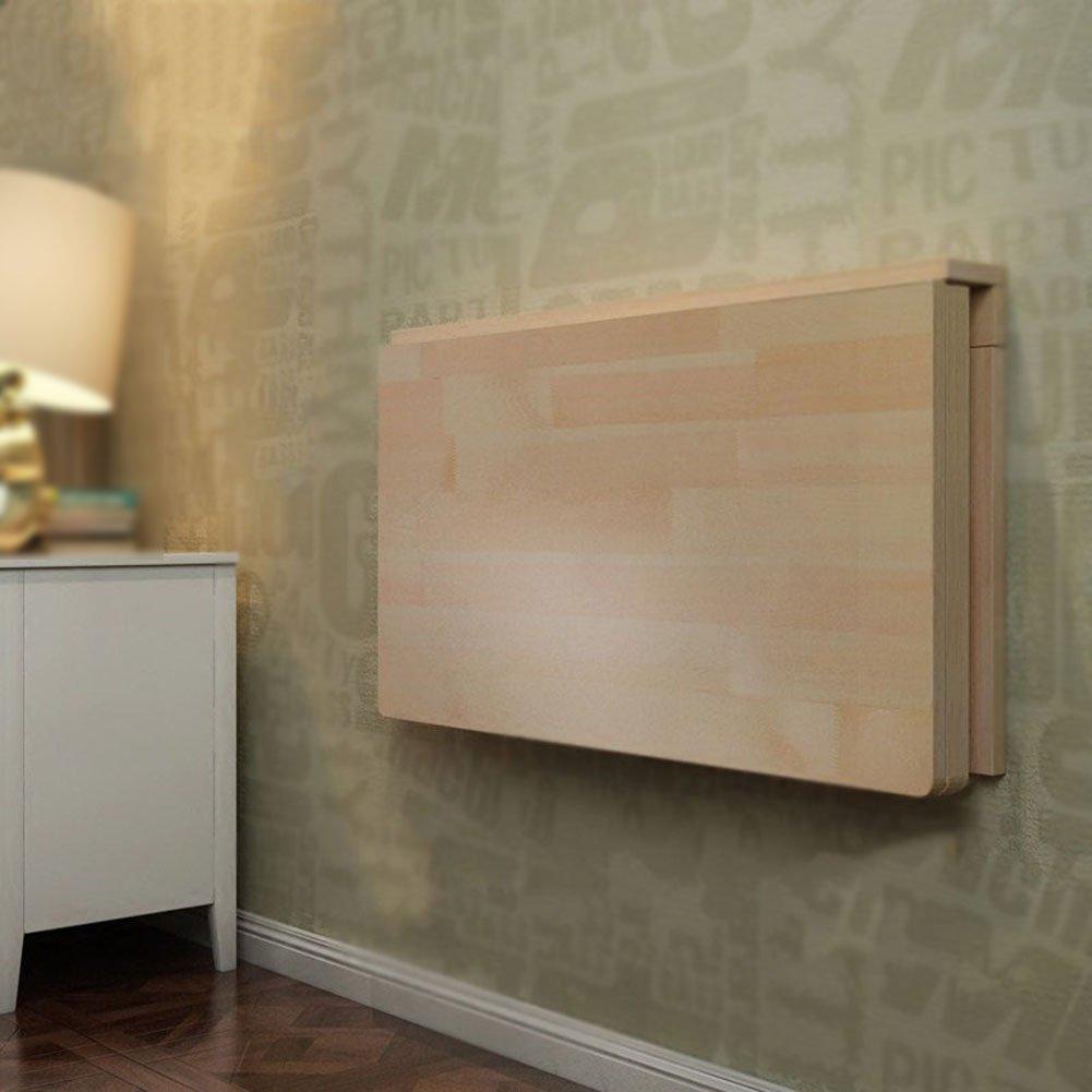 WNX Klappbare Wand-Drop-Blatt-Tisch Holz Klapptisch Wand Tisch Esstisch Computer-Tisch Study Desk Wall Tables Wand-Klapptisch (größe : 70  40cm)